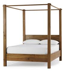 Elegant Wooden Canopy Bed Frame with Black Wood Canopy Bed With Wooden  Canopy Beds Wooden Canopy Beds