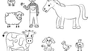 Zoo Animal Coloring Pages For Toddlers Wisekidsinfo