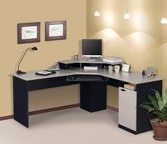 designer office desk home design photos. Magnificent Interior Home Office Desk Ideas With Grey L Shape Minimalist Slab Designs Designer Design Photos N