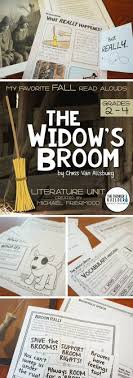 the widow s broom literature unit my favorite read alouds