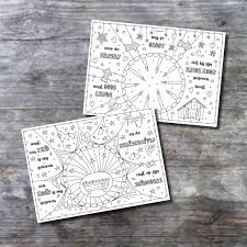 2 Placemats Kerst Download