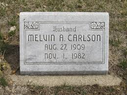 Melvin Arnold Marshall Carlson (1909-1982) - Find A Grave Memorial