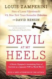 the nook book ebook of the devil at my heels a world war ii hero s epic saga of torment survival and forgiveness by louis zerini david rensin