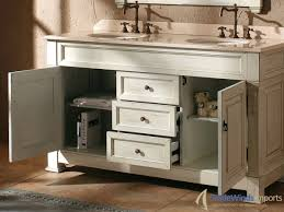 48 Bath Vanity Double Sink fresca allier 48 gray oak modern double