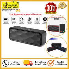 Loa Bluetooth Mini Để Bàn Âm Siêu Trầm, Siêu Ấm, Tích Hợp Loa Kép Cho ÂM  Thanh Sống Động, Sắc Nét - Bảo Hành 6 Tháng
