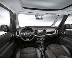 fiat 500l interior automatic. fiat 500l interni spazio 500l interior automatic