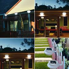 AllPro 100° Black Motion Activated Solar Powered LED Flood Light Solar Powered Led Lights For Homes