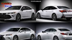 2019 Toyota Avalon Vs 2018 Lexus ES Best Comparison - YouTube