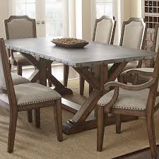zinc dining room table. Zinc Top Dining Table Is Cool Reviews Uk Metal Room - R