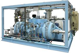 gas compressor. two-stage compressor for hcl service. this is rated zone iic exd and in compliance with korean gas law. process piping \u0026 vessels nitric acid o