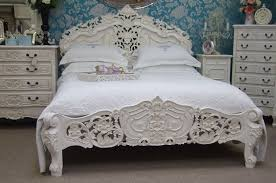 Cama Increible Estilo Shabby Chic Muebles Blancos Plus Appealing Style  Country French Bedroom Furniture Sets