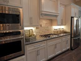 Warehouse Kitchen Appliances White Kitchen Cabinets Gray Granite Countertops New Caledonia