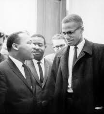 the meeting imagining a moment in history radio boston martin luther king jr and malcolm x meet during a senate debate on the civil rights act of 1964 marion s trikosko library of congress prints and