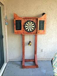 make a dart board cabinet v7998 pallet dartboard cabinet dartboard cabinet with lights make a dart board