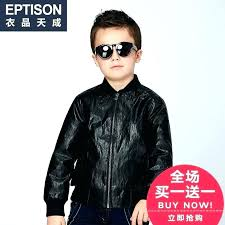 leather jacket for toddlers boys coat clothing items winter children boy zipper sweater in kids girl