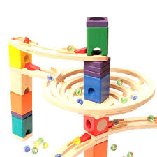 wooden marble run toy the roundabout wooden marble run best wooden marble run toy