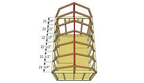 Design Making Gambrels Work  JLC Online  Framing RoofingGambrel Roof Plans