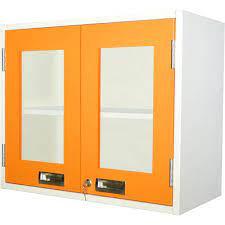 pontos wall mounted glass door cabinet