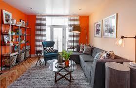 Burnt Orange And Brown Living Room Property Impressive Design Inspiration