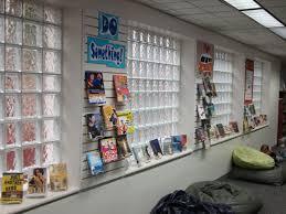 custom made interior commercial glass block windows