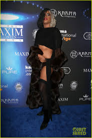 maxim s party brings out lots of interesting costumes
