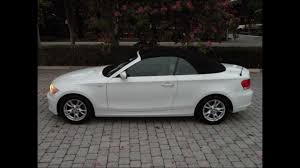 Coupe Series 2008 bmw 135i for sale : 2008 BMW 128i White Convertible For Sale Ft Myers FL 33908 - YouTube