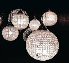 crystal globe chandelier crystal globe brass chandelier with adjule chain chandeliers crystal beaded globe chandelier
