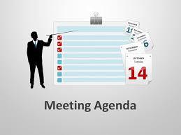 Business Agenda Meeting Agenda For Powerpoint Presentations