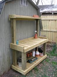 Potting Bench Plans Build Your Own Potting Bench Build Your Own Garden Potting Bench