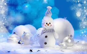 Free Christmas Snowman Wallpaper ...