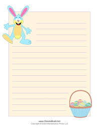 easter bunny template easter bunny clipart and coloring pages easter writing paper