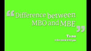 In particular, if you can, give people objectives that. Difference Between Management By Objectives Mbo And Management By Exceptions Mbe Youtube