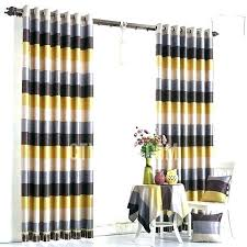 black and white cabana stripe outdoor curtains incredible yellow striped fresh green modern linen blackout v