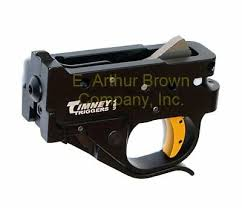 details about timney 1022 4c trigger fits ruger 10 22 black w yellow trigger shoe