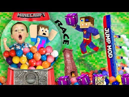 Fgteev Vending Machine Stunning BOY TRAPPED IN GUMBALL MACHINE Minecraft Fantasia Lucky Block Race