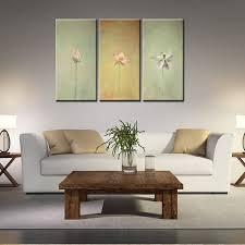 lotus canvas wall art
