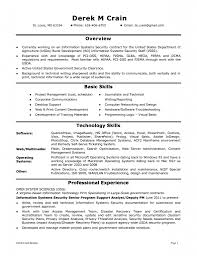 Sample Resume For Information Security Analyst Resume For Study