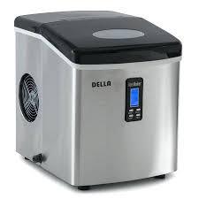 countertop ice maker igloo hoaki dcm 270bah and water dispenser