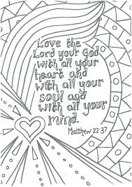 Bible Verse Coloring Pages Printable Scripture Coloring Pages