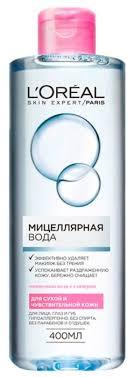 <b>L'Oreal Paris мицеллярная</b> вода для сухой и чувствительной кожи ...
