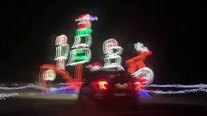 Michigan International Speedway Christmas Lights Youtube