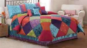 colorful comforter sets queen