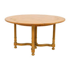 milling road milling road natural round table with leaf for
