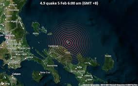 This is a collection page for philippines news. Quake Info Strong Mag 5 1 Earthquake Philippines Sea 8 3 Km Northwest Of Paquita Island Philippines On Friday 5 Feb 2021 6 00 Am Gmt 8 53 User Experience Reports Volcanodiscovery