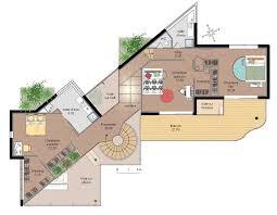 plan maison d architecte