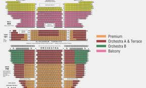 Beaumont Theater Seating Chart 42 Memorable Terrace Seats Greek Theater