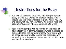accuplacer writing test ppt video online instructions for the essay