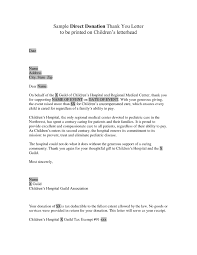 How To Write A Donation Letter Nonprofit Donation Receipt
