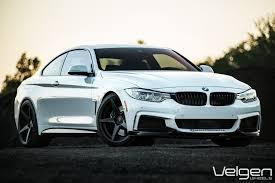 white bmw with black rims. Interesting Black Custom Front Bumper Lips On White BMW M4  Photo By Velgen On Bmw With Black Rims M
