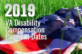 Navy Federal Military Pay Chart 2019 2019 Va Disability Compensation Payment Dates Va Claims